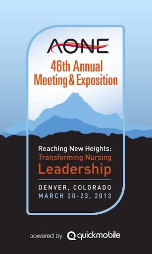 AONE 2013 Annual Meeting