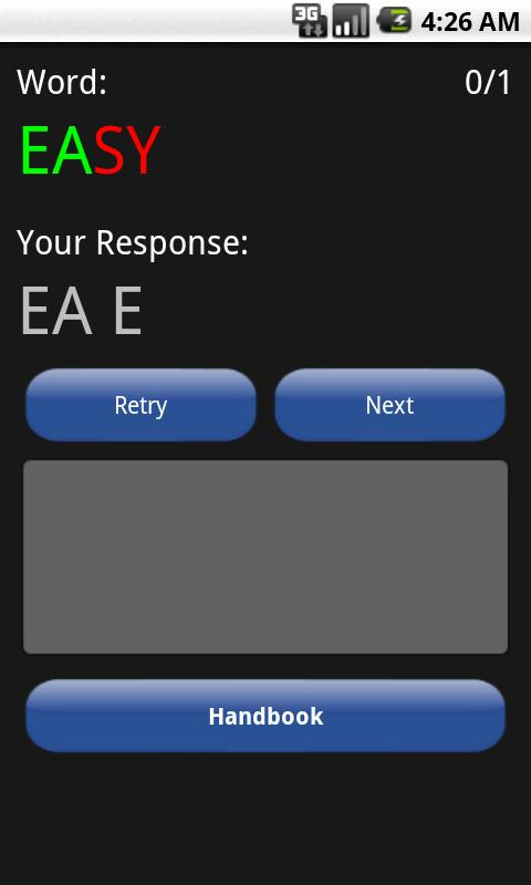 Morse Code Trainer - screenshot