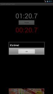 Count Up Down Timer -free ver.- screenshot thumbnail