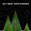 Let It Snow – White Christmas logo