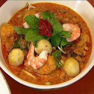 Laksa - Spicy Prawn Soup