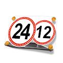 "Round Сlock ""Road Signs"" icon"