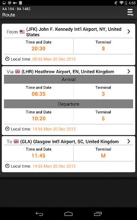 Airline Flight Status Tracking 1.7.5 screenshot 206403