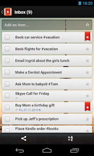 Wunderlist - To-do & Task List - screenshot thumbnail