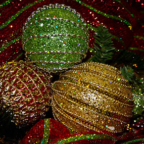 Sparkle by Brenda Hooper - Public Holidays Christmas ( decorate, red, tree, green, christmas, gold, decoration, object,  )