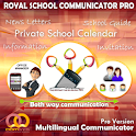 School both way communications icon