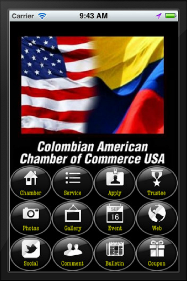 Colombian american chamber android apps on google play for American chambre