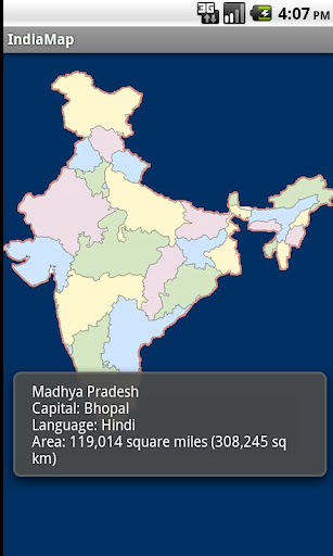 Indian States - India Map