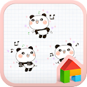 Panda stick dodol launcher icon