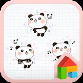 Panda stick dodol launcher