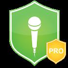 麥克風攔截 - 間諜軟件防護 (Microphone Block Pro) icon