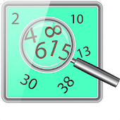 Numbers Search Puzzle Game