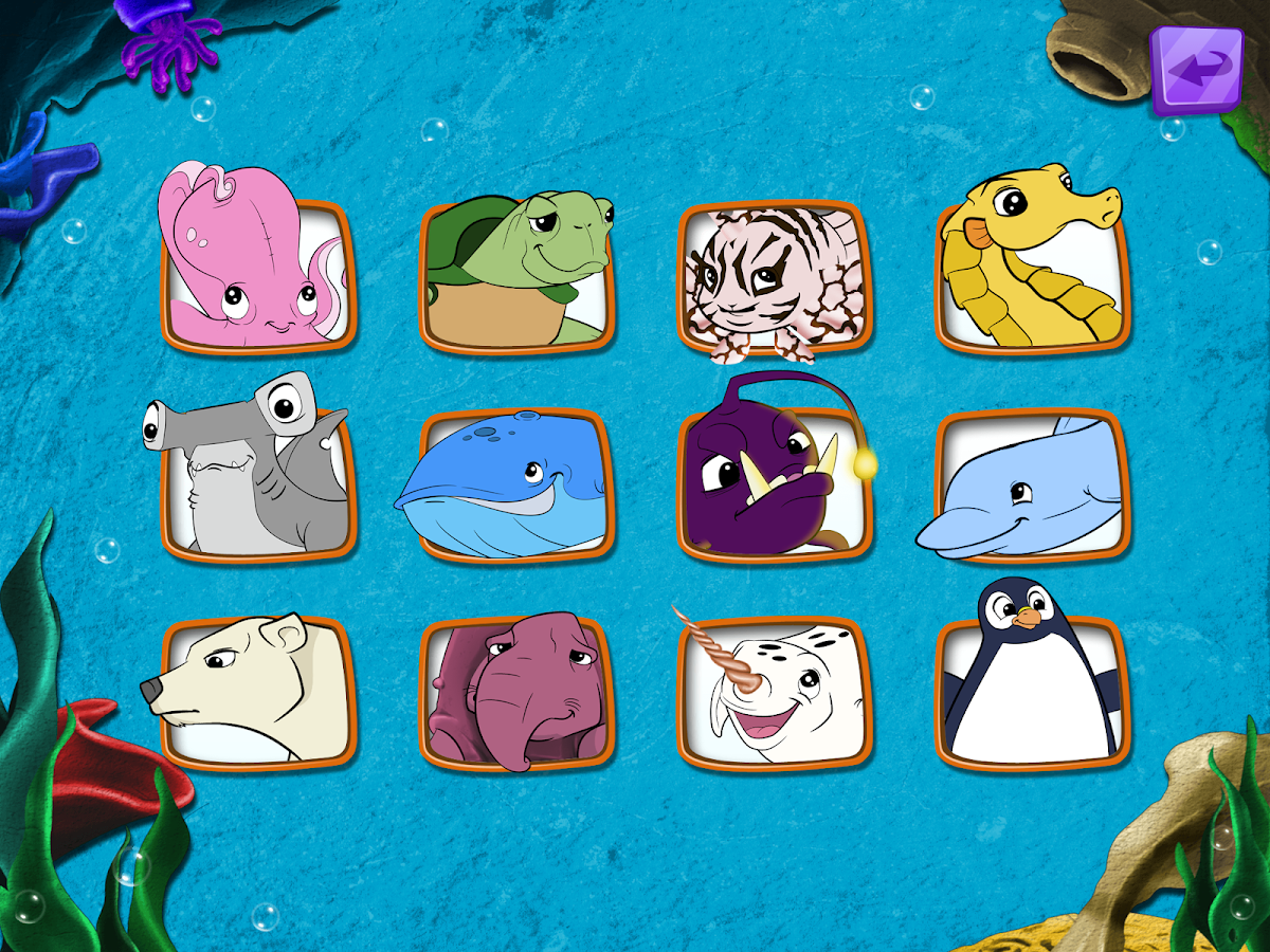 live puzzle sea animals kids android apps on google play