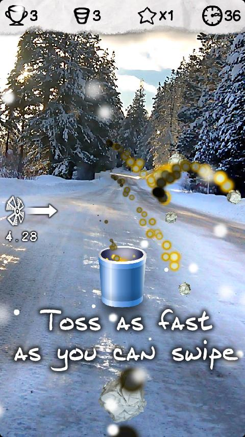 Rapid Toss - screenshot