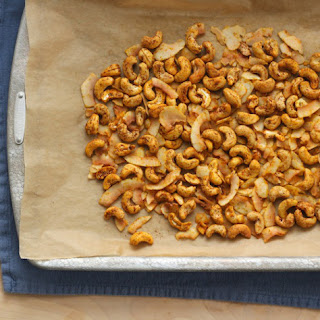Spiced Cashew and Coconut Snack Mix