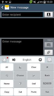 GO Keyboard Flat - náhled