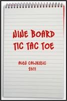 Screenshot of Nine Board TicTacToe