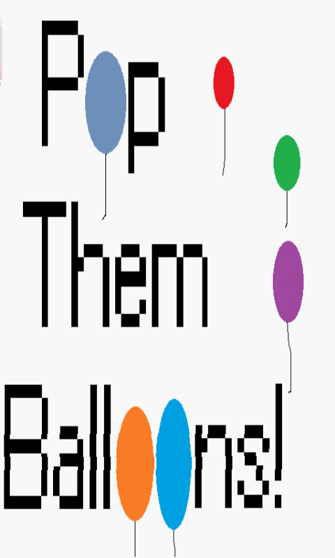 Pop Them Balloons!- screenshot