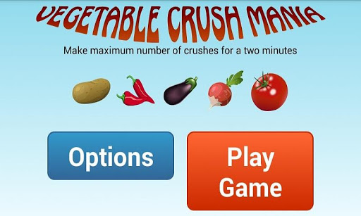Vegetables Crush Mania