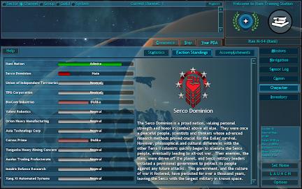 Vendetta Online (3D Space MMO) Screenshot 9