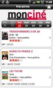 MonCiné- screenshot thumbnail
