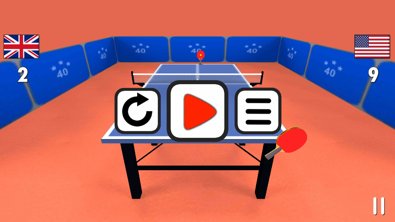 Table Tennis 3D- screenshot