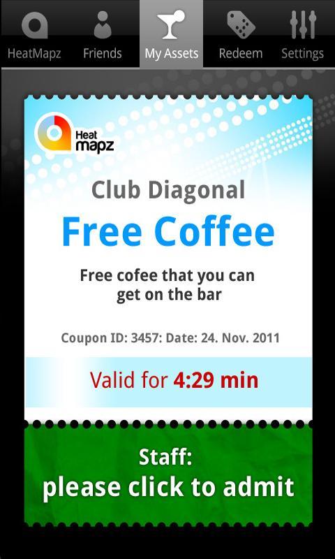 HeatMapz - Nightlife deals - screenshot