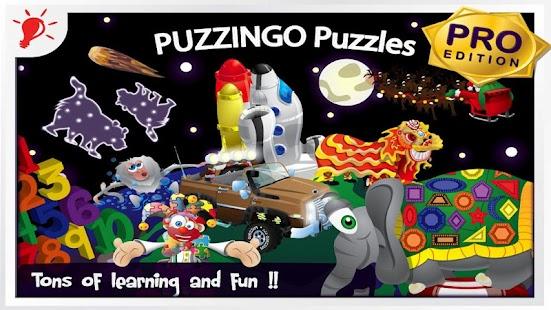 Puzzingo Kids Puzzles Pro