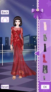Glamorous Gowns Dress Up - screenshot thumbnail