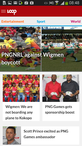【免費新聞App】PNGLOOP IS FREE WITH DIGICEL-APP點子