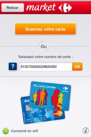Scan'Phone market– Capture d'écran