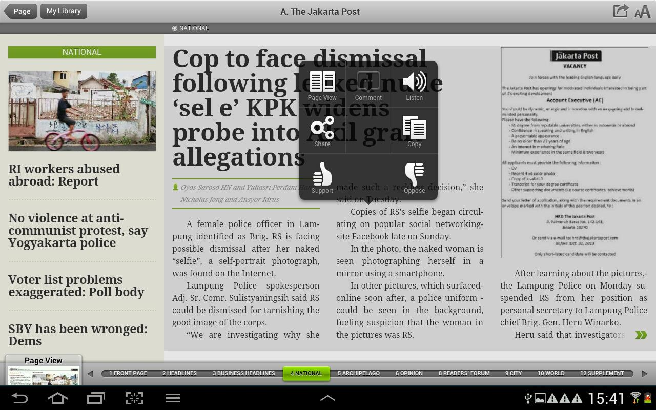 The Jakarta Post Always Bold >> The Jakarta Post - Android Apps on Google Play