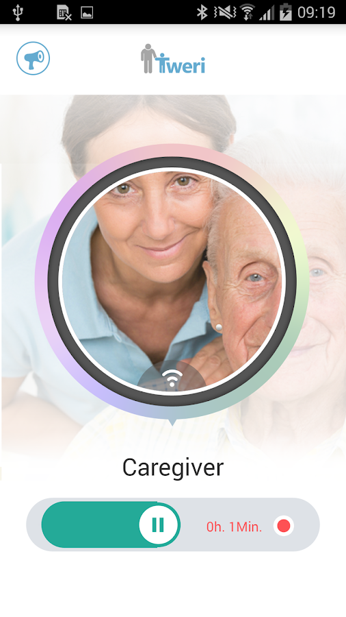 tweri Alzheimer caregiver tool- screenshot
