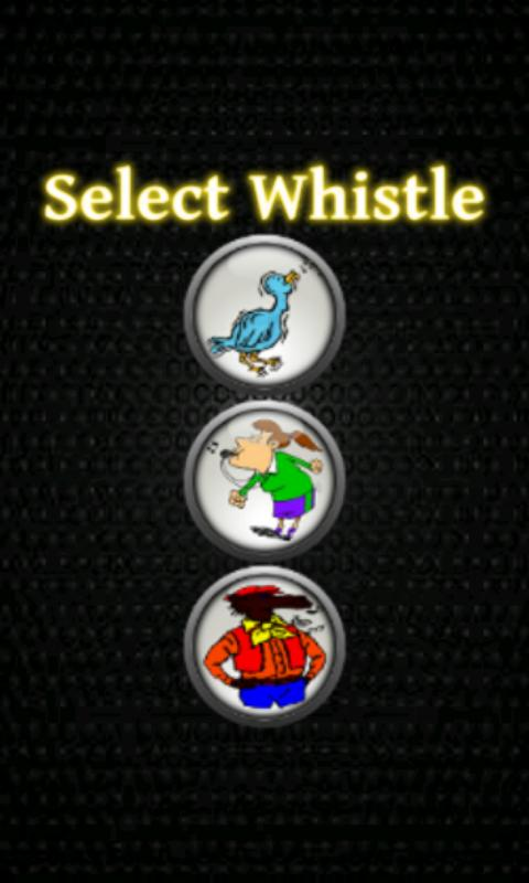 Loud Pocket Whistle - screenshot