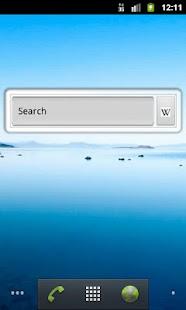 Ultimate Search Widget- screenshot thumbnail