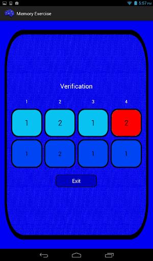 【免費解謎App】Memory Exercise-APP點子