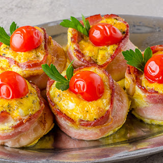 Mini Bacon Frittata.