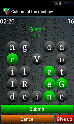 Qizzle : Quiz + Word search - screenshot