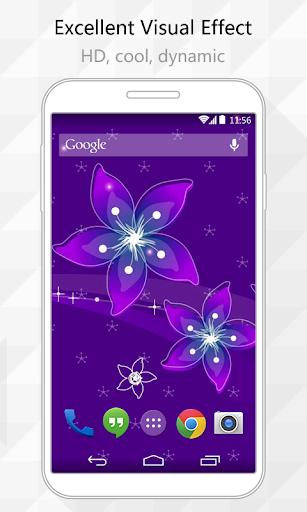 Royal Purple Live Wallpaper
