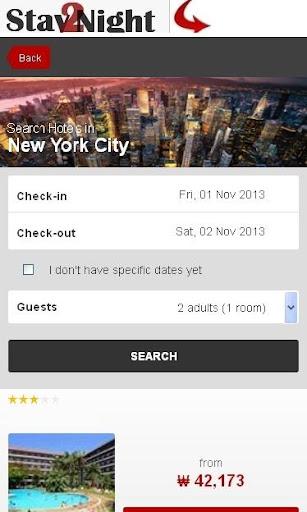 New York City Hotel finder