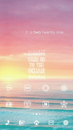 玩免費個人化APP|下載Take me to the OCEAN 도돌런처 테마 app不用錢|硬是要APP