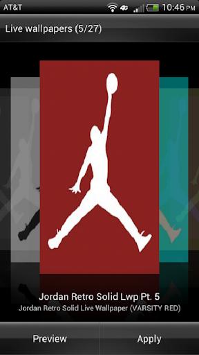 Jordan HD Solid Live Wallpaper