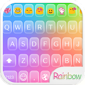 Rainbow Bubble Emoji Keyboard
