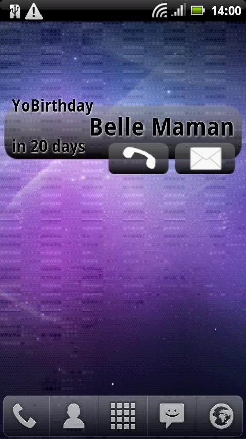 YoBirthDay - screenshot