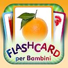 Flashcard en italiano icon