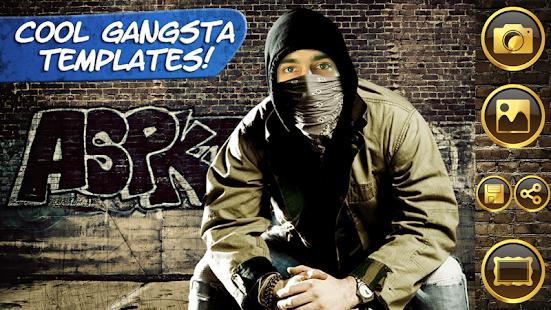 Instant Gangsta Photo Montage screenshot