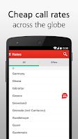 Screenshot of Tesco International Calling