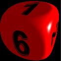 Dices 3D icon