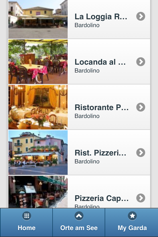 Lake Garda Mobile- screenshot