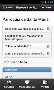 Misas.org- screenshot thumbnail